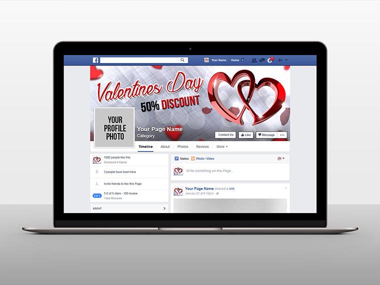 Free Facebook Cover Mockup 2015-2016