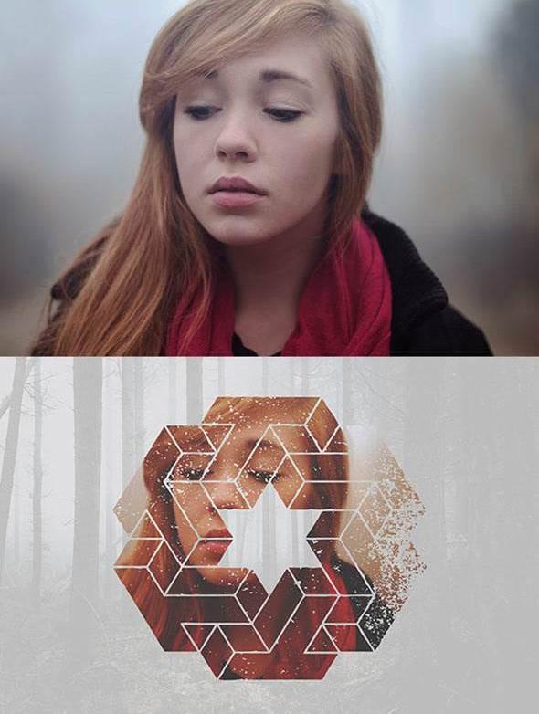 Geometric Photoshop Action