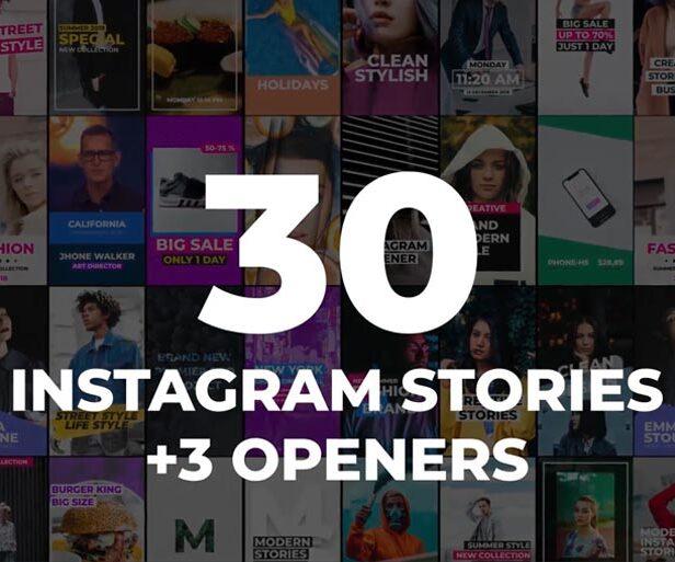 10 Instagram Stories Templates - Video, PSD & Apple Motion